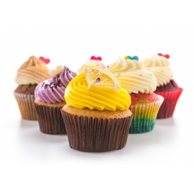 Colourful Cup Cake