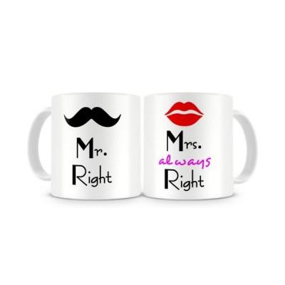Mr. Mrs Mug