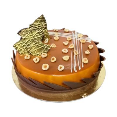 Caramel Choco Cake