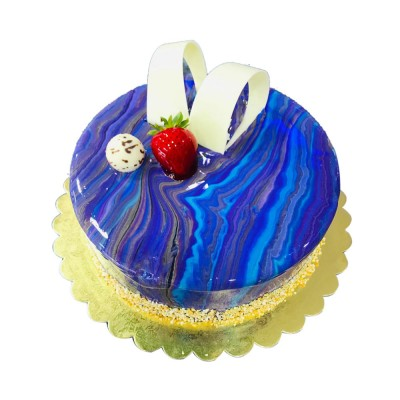 Blue Creamy Cake